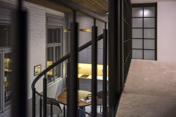 Современная лофт квартира
