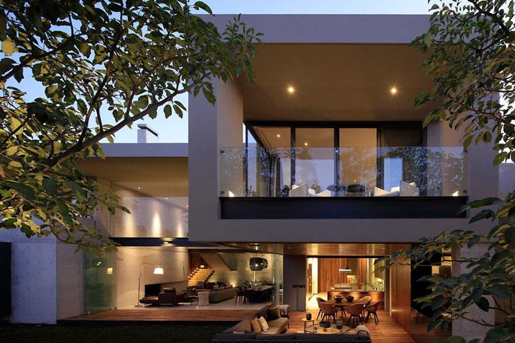 Дом в Мексике в стиле лофт