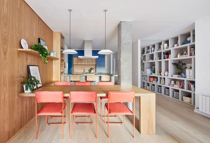 Красочная квартира
