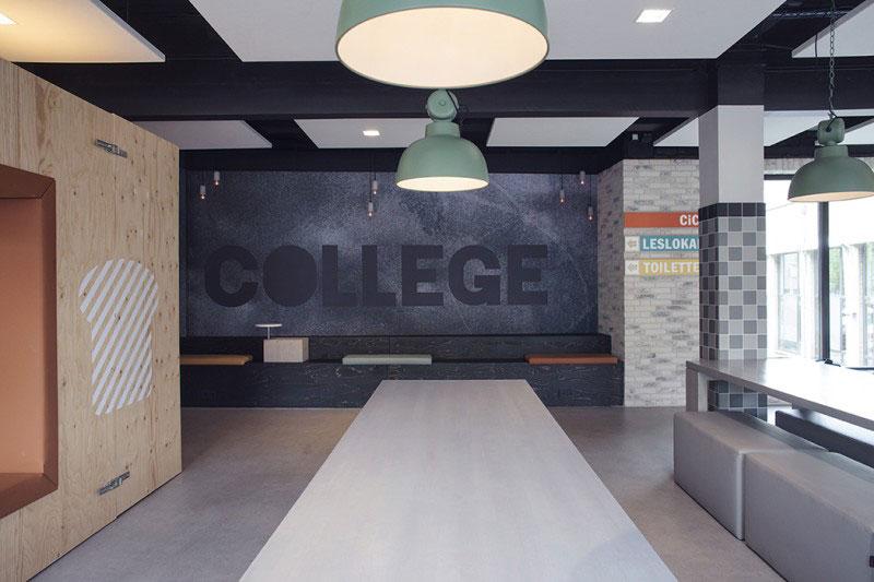 Интерьер студенческого отеля